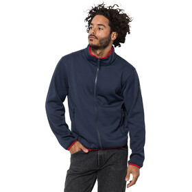 Jack Wolfskin 365 Twentyfourseven 3-i-1 jakke Herrer, night blue peak red
